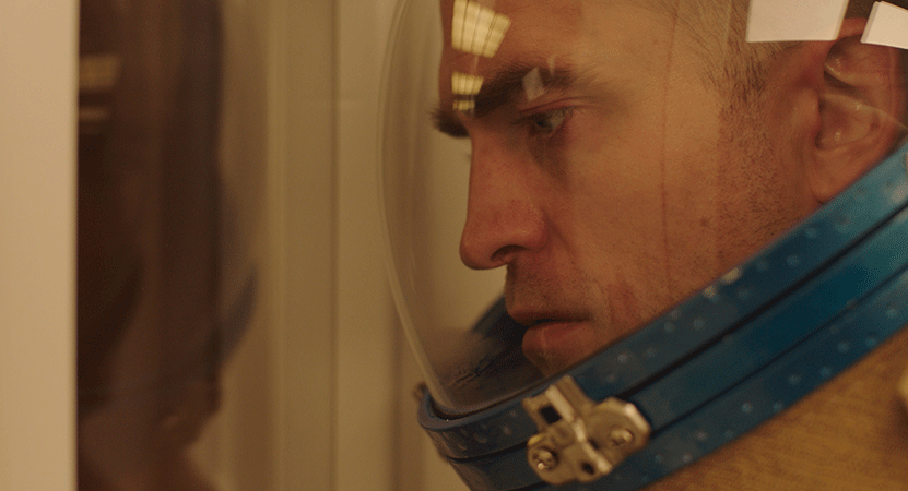 image of a man in a helmet from the film High Life