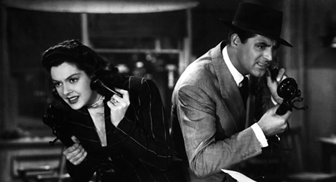 Still image from His Girl Friday.