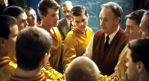 Still image from Hoosiers.
