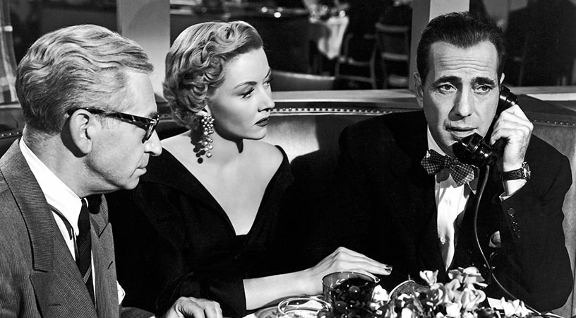 Still image from In a Lonely Place.