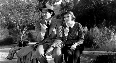 Still image from It Happened One Night.