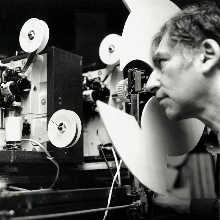 still image of filmmaker Ken Jacobs