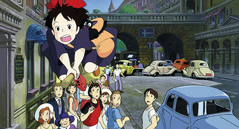 Still image from Kiki's Delivery Service.