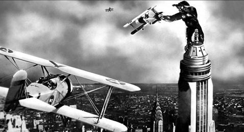 Still image from King Kong.