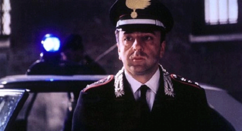 image of a man in military dress from the film La mia generazione (My Generation).