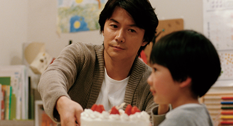 Still image from Like Father, Like Son.