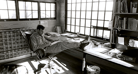 Still image from Look and See: A Portrait of Wendell Berry.