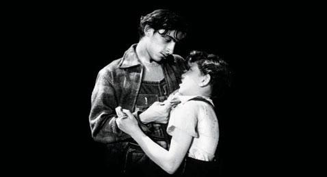 Still image from Los Olvidados.