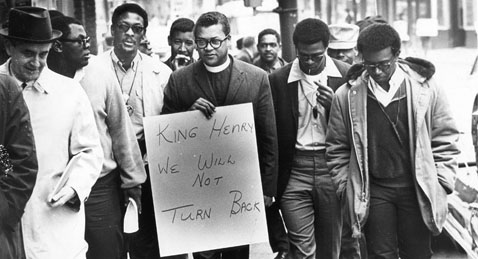 Still image from Love and Solidarity in the Struggle for Labor Rights: Learning from Nonviolent Revolutionary James Lawson.