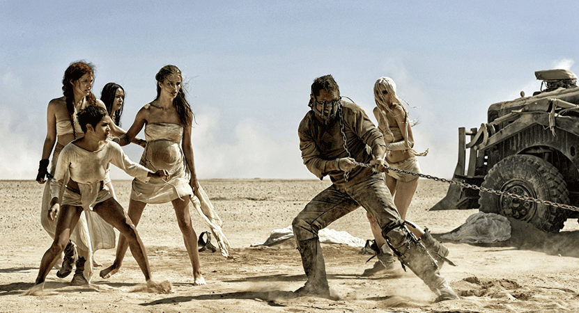 Still image from Mad Max: Fury Road.
