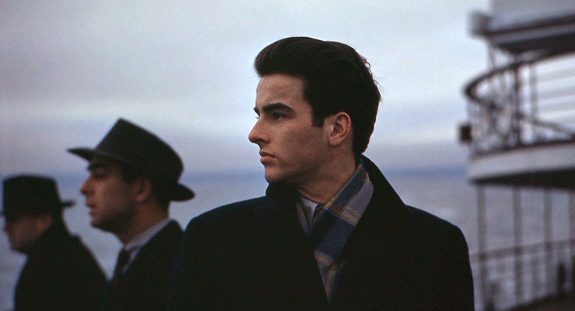 a man looks of into the distance from the film Making Montgomery Clift