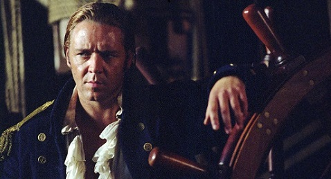 Still image from Master and Commander: The Far Side of the World.