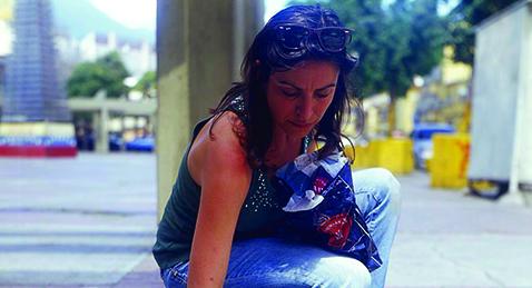 Still image from Mireia Sallarès with Jill Godmilow.