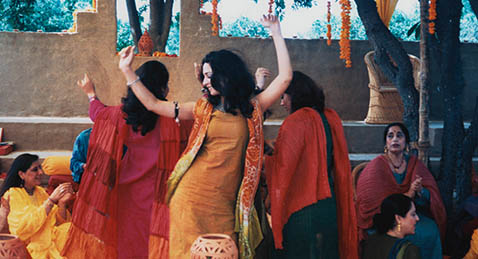 Still image from Monsoon Wedding.