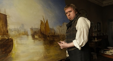 Still image from Mr. Turner.