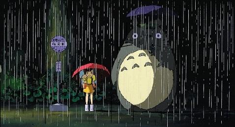 Still image from My Neighbor Totoro.