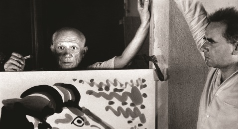 Still image from Mystery of Picasso.