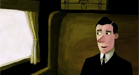 Still image from NFB of Canada Animated Shorts Program.