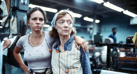 Still image from Norma Rae.