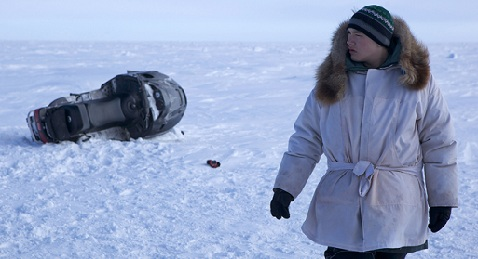 Still image from On the Ice.