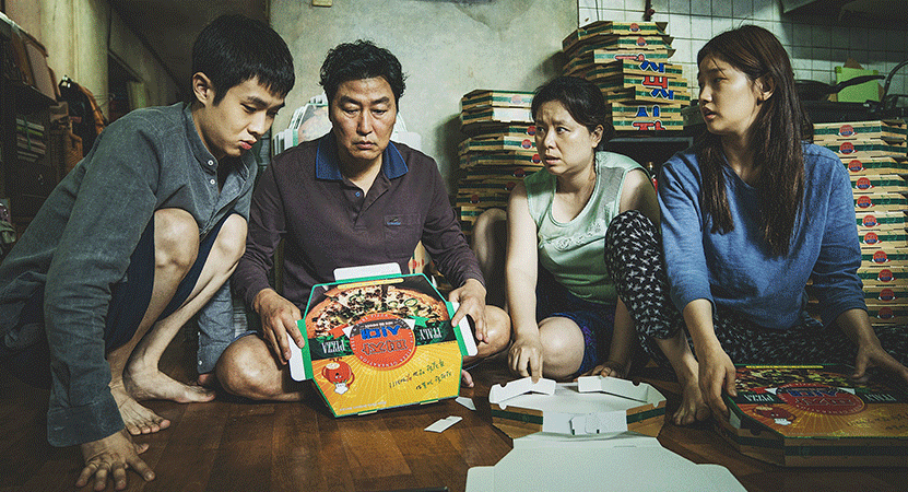 Still image from Gisaengchung (Parasite).