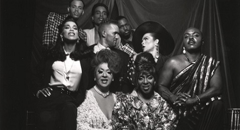 Still image from Paris is Burning.
