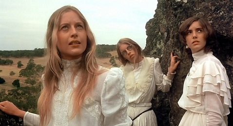 Still image from Picnic at Hanging Rock.