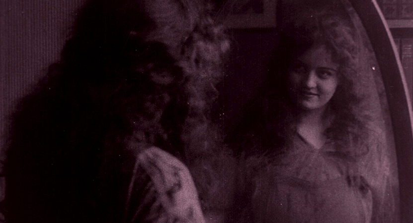 image of a women with a purple overlay from the film Pioneers: first women filmmakers.