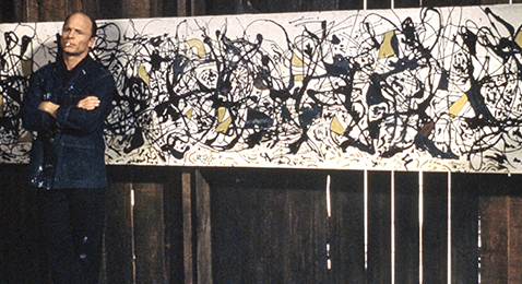 Still image from Pollock.