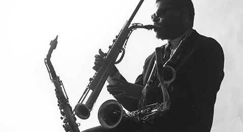 Still image from Rahsaan Roland Kirk: The Case of the Three Sided Dream.
