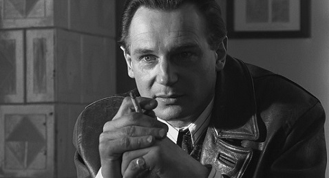 Still image from Schindler's List.