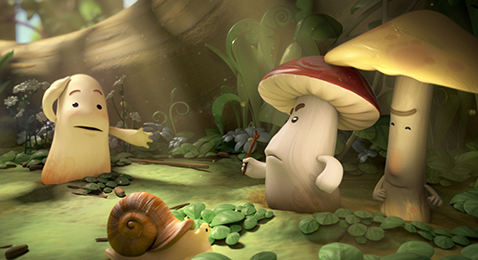 Still image from See The World, Feed Your Mind: Animated Shorts.