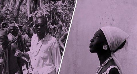 Still image from Sembène Roundtable Discussion.