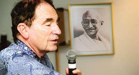 Still image from Soft Vengeance: Albie Sachs and the New South Africa.