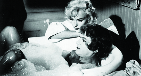 Still image from Some Like it Hot.