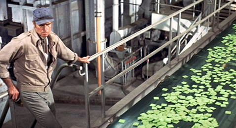 Still image from Soylent Green.