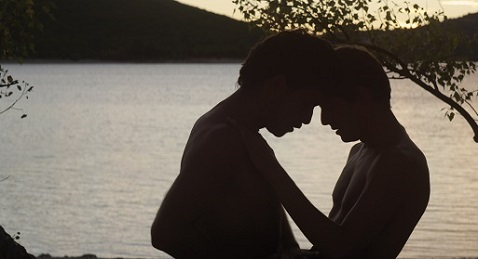 Still image from Stranger by the Lake/L'Inconnu du lac.