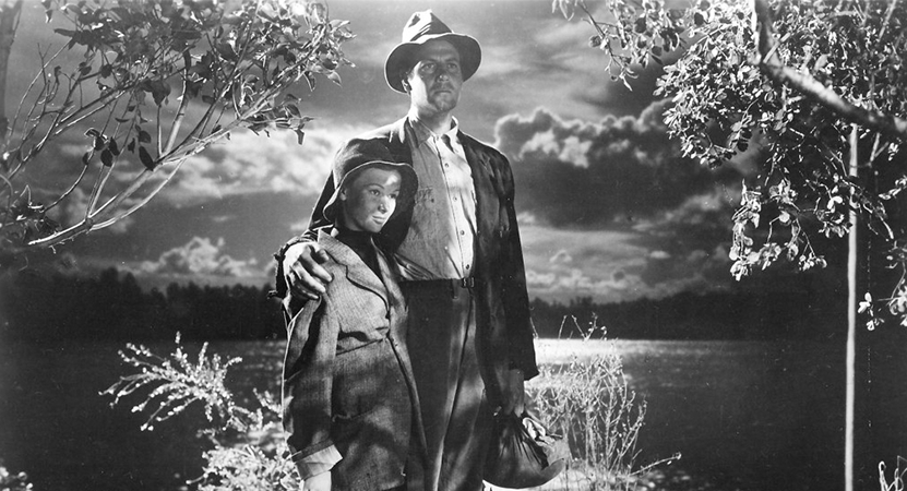 a man and women embrace from the film The Bad and the Beautiful.