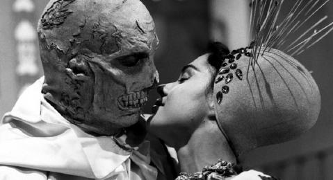 Still image from The Abominable Dr. Phibes.