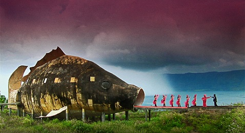 Still image from The Act of Killing.