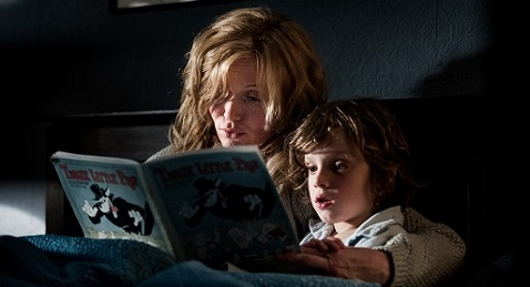 Still image from The Babadook.