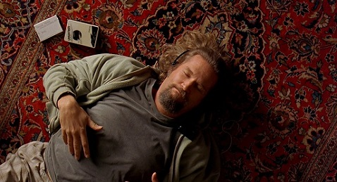Still image from The Big Lebowski.