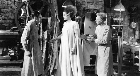 Still image from The Bride of Frankenstein.