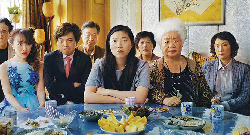 Still image from The Farewell.