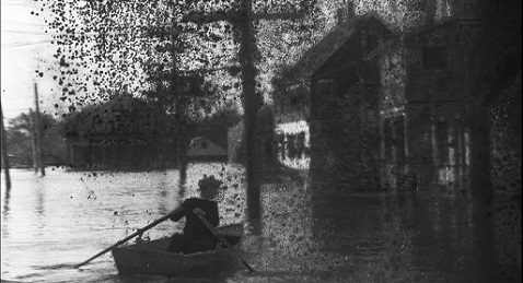 Still image from The Great Flood.