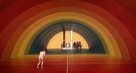 Still image from The Holy Mountain.