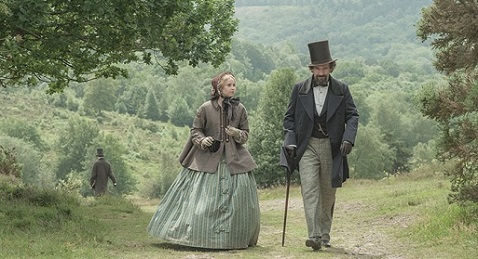 Still image from The Invisible Woman.