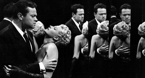 Still image from The Lady From Shanghai.