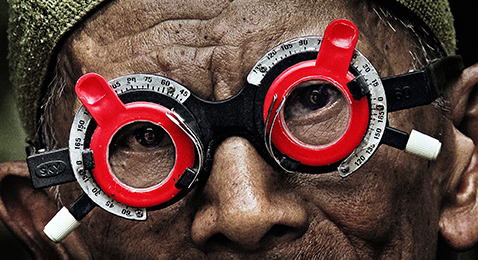 Still image from The Look of Silence.