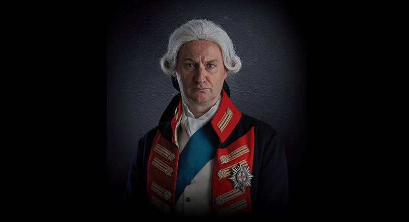 Still image from The Madness of George III.